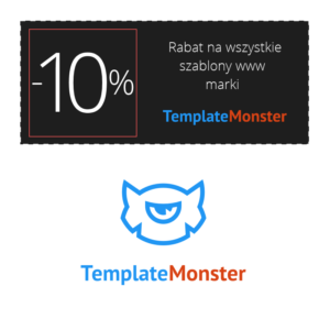 Kod rabatowy TemplateMonster